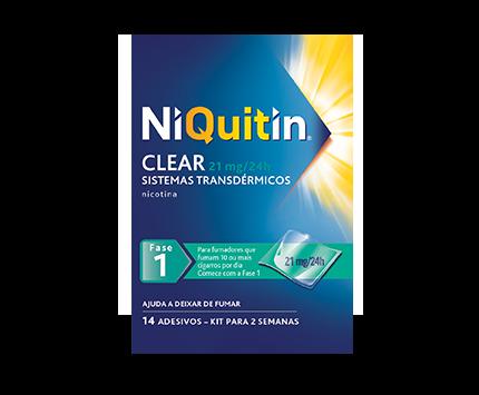 NiQuitin® Clear Sistemas Transdérmicos