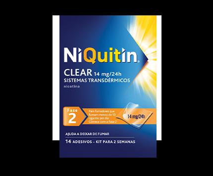 Sistemas transdérmicos NiQuitin Clear®