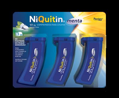 NiQuitin® Menta Comprimidos para Chupar